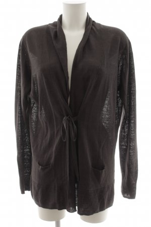 Donna Lane Cardigan schwarzbraun Casual-Look