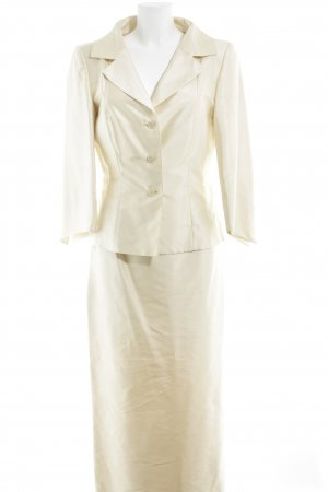 Donna Lane Ladies' Suit cream elegant