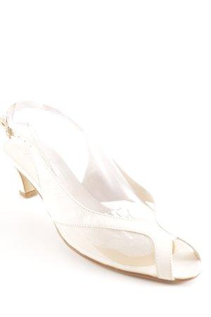 Donna Laura Slingback-Pumps creme Elegant