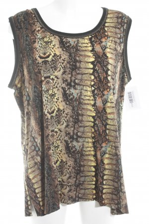 Donna Lisa Ensemble en jersey motif animal imprimé reptile