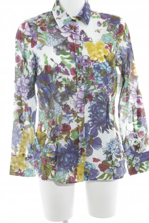 Donnell Langarm-Bluse florales Muster Casual-Look