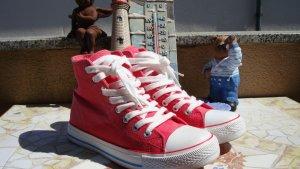 DOO DOGS CHUCKS HIGH-TOP SNEAKER BOOTS CANVAS NP39,95€ neu 36/37