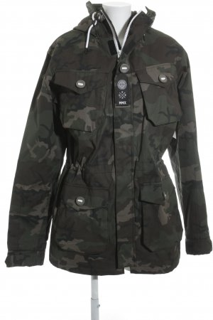 Dope Militair jack camouflageprint militaire uitstraling