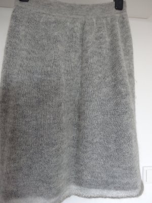 Doppellagiger Mohair Strickrock von Bruno Manetti (Made in Italy)