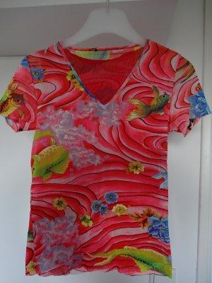 Doppellagiges Mesh Shirt von Kenzo