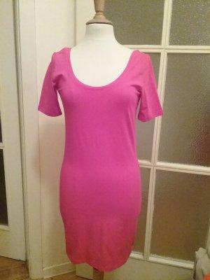 Doppelpack Longshirts/ Kleid pink & koralle