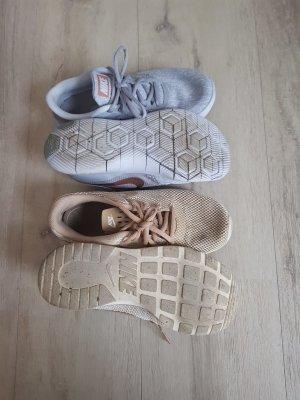 Nike Sneaker stringata grigio chiaro-beige