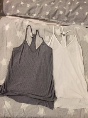 Asos Camisoles white-grey