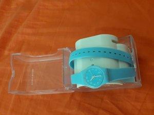 doppelt Armbanduhr swatch