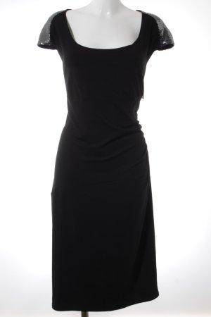 Doris Megger Stretchkleid schwarz Elegant