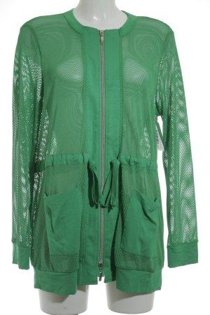 Doris Streich Cardigan grün sportlicher Stil
