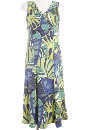 Doris Streich Cocktailkleid abstraktes Muster Elegant