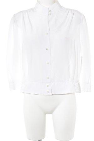 Doris Streich Langarm-Bluse weiß Casual-Look