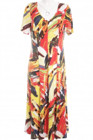 Doris Streich Maxikleid abstraktes Muster Elegant