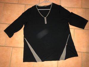 Doris Streich Shirt mit Reißverschlussdetails