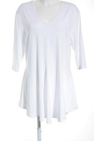 Doris Streich Shirttunika weiß Casual-Look