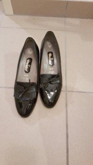 Dorndorf Lakleren ballerina's zwart