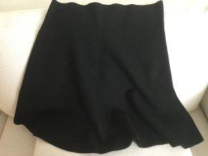 Dorothee Schumacher Falda de punto negro lana de esquila
