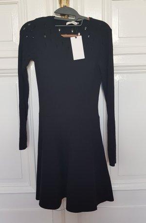 dorothee schumache black knitwear dress