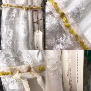 Dorothee Schumacher Cintura in tessuto beige chiaro-giallo scuro Cotone