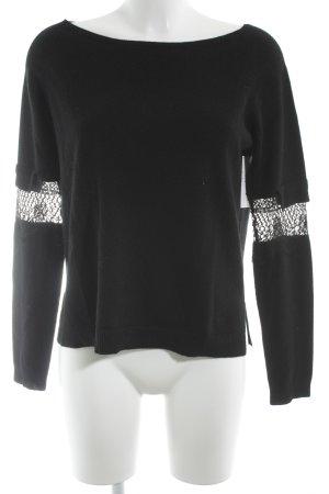 Dorothee Schumacher Cashmerepullover schwarz Elegant