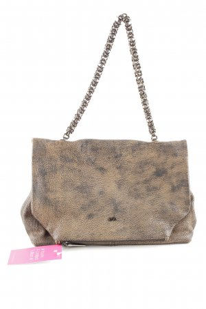 Dorothee Schumacher Handtasche bronzefarben-schwarz Farbverlauf Business-Look