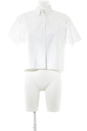 Dorothee Schumacher Shirt met korte mouwen wolwit casual uitstraling