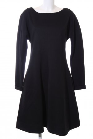 Dorothee Schumacher Langarmkleid schwarz Business-Look