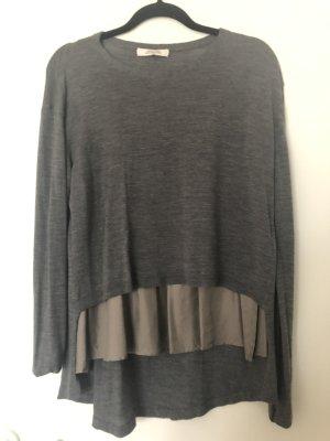 Dorothee Schumacher Cashmere Jumper grey-dark grey merino wool