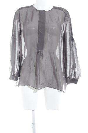 Dorothee Schumacher Oversized Bluse grauviolett Casual-Look