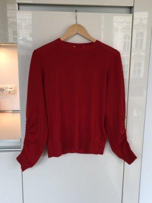 Dorothee Schumacher Maglione di lana rosso scuro