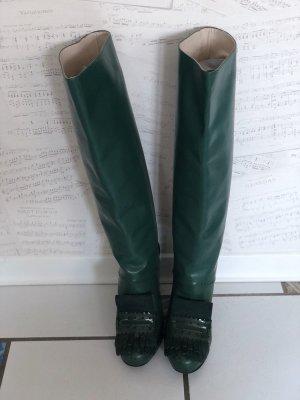 Dorothee Schumacher Jackboots forest green leather