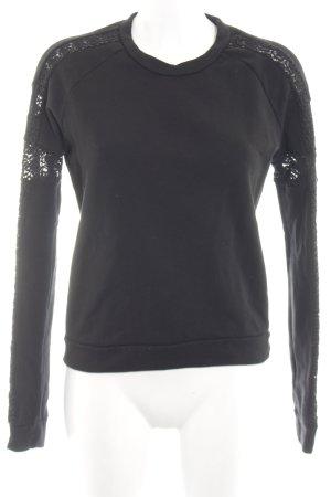 Dorothee Schumacher Sweatshirt schwarz Casual-Look