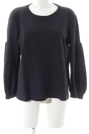 Dorothee Schumacher Sweatshirt dunkelblau Segel-Look