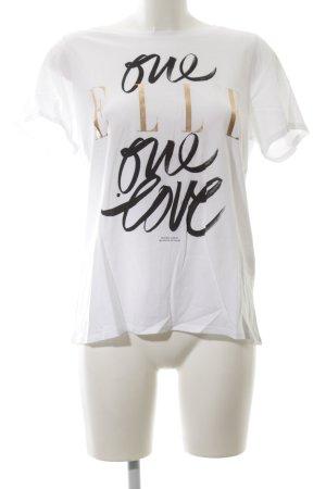Dorothee Schumacher T-Shirt Schriftzug gedruckt Casual-Look