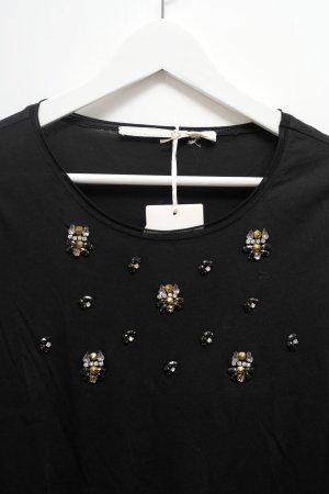 Dorothee Schumacher- Traum Jersey T-Shirt mit Glitzer-Applikationen