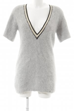 Dorothee Schumacher V-Ausschnitt-Shirt mehrfarbig College-Look