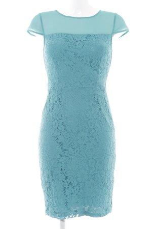 Dorothy Perkins Abendkleid türkis florales Muster Elegant