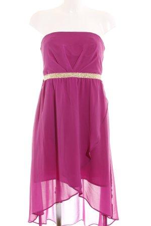 Dorothy Perkins Bandeaukleid goldfarben-violett Elegant