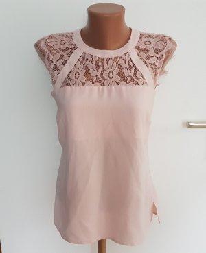 Dorothy Perkins Bluse l aktuelle Kollektion l rosa Spitze