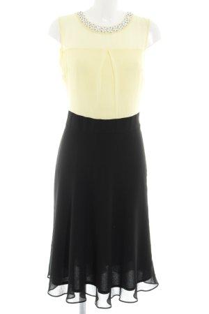 Dorothy Perkins Blusenkleid schwarz-hellgelb Elegant