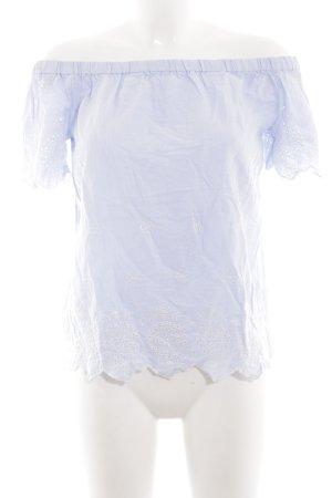 Dorothy Perkins Blouse Carmen bleu style décontracté