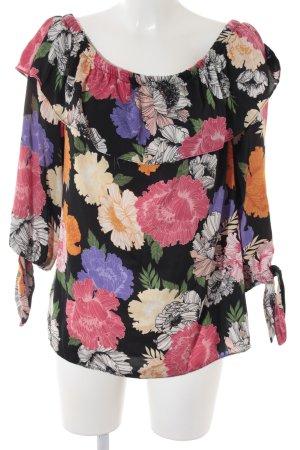 Dorothy Perkins Carmen-Bluse florales Muster Romantik-Look