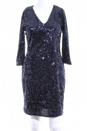Dorothy Perkins Cocktailkleid blau Allover-Druck Elegant