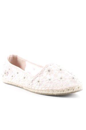 Dorothy Perkins Espadrille Sandals dusky pink-pink flower pattern Boho look