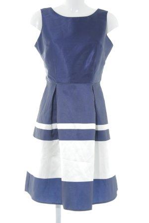 Dorothy Perkins Etuikleid dunkelblau-weiß Streifenmuster Elegant