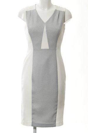 Dorothy Perkins Etuikleid weiß-blassblau Karomuster Elegant