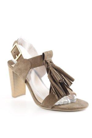 Dorothy Perkins High Heel Sandaletten khaki klassischer Stil