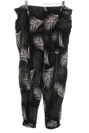 Dorothy Perkins Hüfthose schwarz-weiß abstraktes Muster Casual-Look