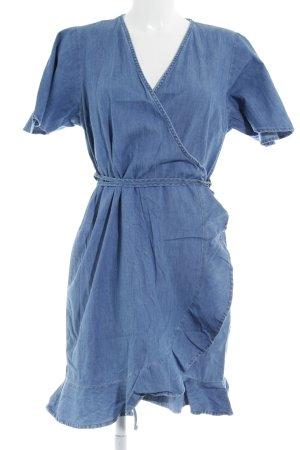 Dorothy Perkins Cazadora vaquera azul acero look Street-Style